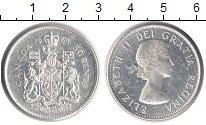 Изображение Монеты Канада 50 центов 1964 Серебро XF Елизавета II
