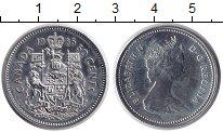 Изображение Монеты Канада 50 центов 1985 Медно-никель UNC-