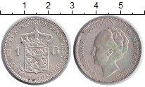 Изображение Монеты Нидерланды 1 гульден 1940 Серебро XF