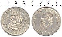 Изображение Монеты Мексика 5 песо 1959 Серебро XF 100 - летие А. Карра