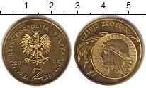 Изображение Монеты Польша 2 злотых 2006 Латунь XF История польского зл
