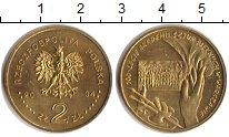Изображение Монеты Польша 2 злотых 2004 Латунь XF 100 лет со дня основ