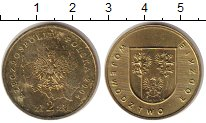 Изображение Монеты Польша 2 злотых 2004 Латунь XF