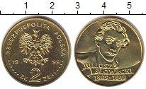 Изображение Мелочь Польша 2 злотых 1999 Латунь UNC-