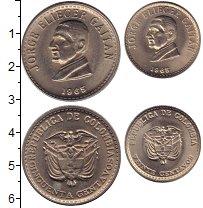Изображение Наборы монет Колумбия Колумбия 1965 1965 Медно-никель UNC-