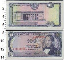 Изображение Банкноты Колумбия 100 песо 0  XF