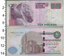 Изображение Банкноты Египет 10 фунтов 0  UNC-