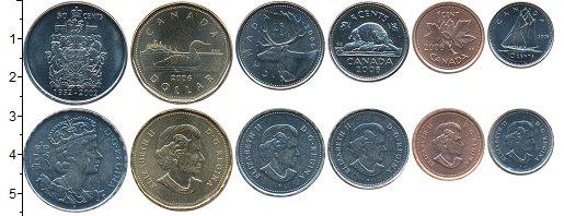 Канада набор монет 2002 Медно-никель
