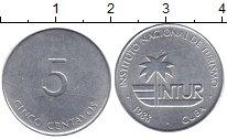 Изображение Монеты Куба 5 сентаво 1988 Алюминий XF