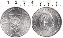 Изображение Монеты Нидерланды 2 1/2 гульдена 1964 Серебро UNC