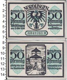 Изображение Банкноты Германия : Нотгельды 50 пфеннигов 1918  XF Выпуск 2 октября 191
