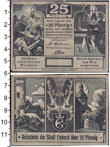 Изображение Банкноты Германия : Нотгельды 25 пфеннигов 1920  XF