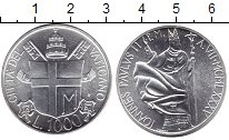 Изображение Монеты Ватикан 1.000 лир 1985 Серебро XF Иоанн Павел II