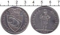 Изображение Монеты Берн 1/2 талера 1797 Серебро XF ГОСПОДЬ ПОЗАБОТИТСЯ.