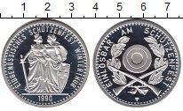 Изображение Монеты Швейцария 50 франков 1990 Серебро UNC Стрелковый фестиваль
