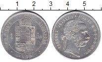 Изображение Монеты Венгрия 1 форинт 1879 Серебро UNC-