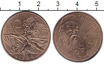 Изображение Монеты Франция 10 франков 1984 Медно-никель XF 200 - летие Франсуа