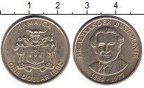 Изображение Монеты Ямайка 1 доллар 1992 Медно-никель UNC-