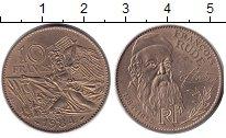 Изображение Монеты Франция 10 франков 1984 Медь XF 200 лет со дня рожде