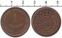 Изображение Монеты Мозамбик 1 эскудо 1969 Медь XF