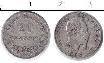 Изображение Монеты Италия 20 сентесимо 1863 Серебро VF