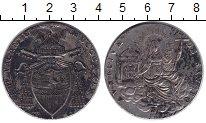 Изображение Монеты Ватикан 1 скудо 1729 Серебро