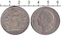 Изображение Монеты Вюртемберг 1 гульден 1844 Серебро XF 25 - летие пребывани