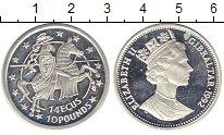 Изображение Монеты Гибралтар 14 экю 1992 Серебро Proof-