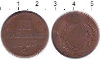 Изображение Монеты Саксония 3 пфеннига 1803 Медь VF