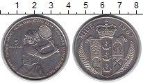 Изображение Монеты Ниуэ 5 долларов 1987 Медно-никель UNC- Штеффи Граф.