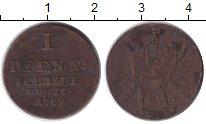 Изображение Монеты Ганновер 1 пфенниг 1789 Медь VF