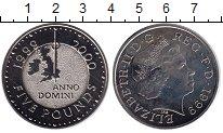 Изображение Монеты Великобритания 5 фунтов 1999 Медно-никель XF