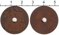 Изображение Монеты Индокитай 1 цент 1920 Медь VF