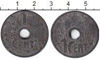 Изображение Монеты Индокитай 1 цент 0 Цинк
