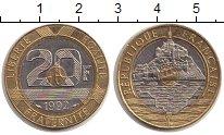 Изображение Монеты Франция 20 франков 1992 Биметалл UNC-