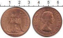 Изображение Монеты Великобритания 1 пенни 1967 Бронза UNC-