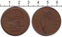 Изображение Монеты Ирландия 1 пенни 1946 Бронза VF