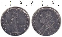 Изображение Монеты Ватикан 100 лир 1957 Сталь UNC-