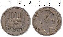 Изображение Монеты Алжир 100 франков 1950 Медно-никель VF