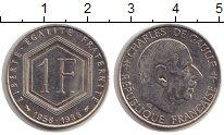 Изображение Монеты Франция 1 франк 1988 Медно-никель UNC