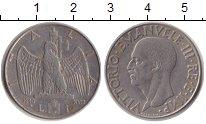 Изображение Монеты Италия 1 лира 1940 Сталь XF