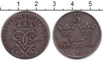 Изображение Монеты Швеция 5 эре 1944 Железо VF