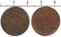 Изображение Монеты Швеция 2 эре 1920 Бронза XF Густав V