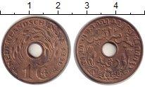 Изображение Монеты Нидерландская Индия 1 цент 1936 Бронза XF