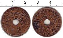 Изображение Монеты Нидерландская Индия 1 цент 1945 Бронза XF