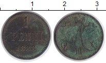 1881 – 1894 Александр III 1 пенни 1888 Медь