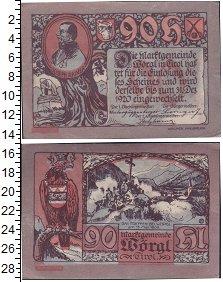 Изображение Банкноты Германия : Нотгельды 90 геллеров 1920  XF