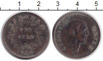 Саравак 1 цент 1930 Медь