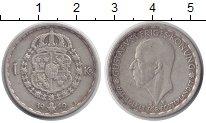 Изображение Монеты Швеция 1 крона 1949 Серебро XF