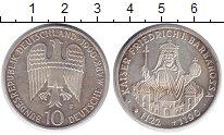 Изображение Монеты ФРГ 10 марок 1990 Серебро XF 800 лет со дня смерт